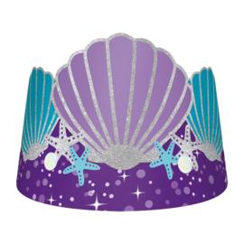 Zeemeermin tiara's Mermaid Wishes 8 st.