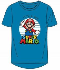 Super Mario Bros t-shirt turquoise mt. 104