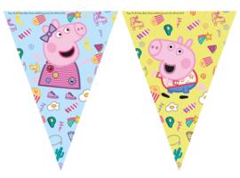 Peppa Pig vlaggenlijn Messy Play 2,3 mtr.