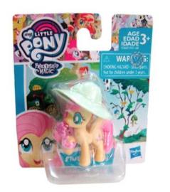 My Little Pony Fluttershy taart topper 5,5 cm.