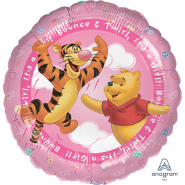 Disney Baby Winnie de Poeh folieballon girl ø 43 cm.