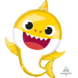 Baby Shark folieballon XL 66 cm.