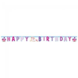 Eenhoorn magic slinger happy birthday 1,85 mtr.