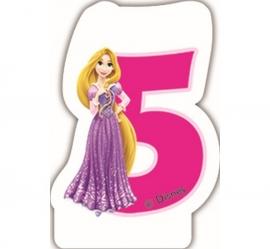 Disney Princess Rapunzel 5e verjaardagkaars