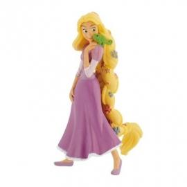 Disney Princess Rapunzel met bloemen taart topper decoratie 10 cm.