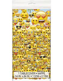 Emoji - Smiley tafelkleed 1,37 x 2,13 mtr.