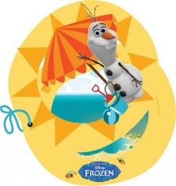Disney Frozen Olaf uitnodigingen summer 6 st.