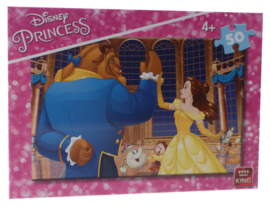 Disney Belle en Beest puzzel 50 stukjes