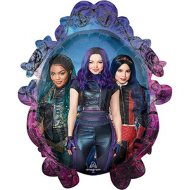 Disney Descendants folieballon XL 63 x 78 cm.