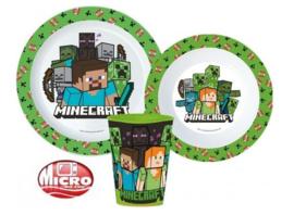 Minecraft 3-delige kinderservies set B