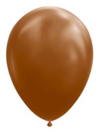 Ballon brown ø 30 cm. 10 st.