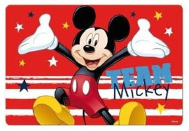 Disney Mickey Mouse placemat 3D