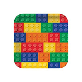 Lego Block party feestartikelen