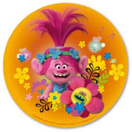 Trolls ouwel taart decoratie ø 20 cm. B