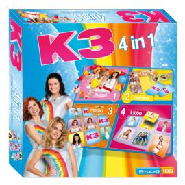 K3 4in1 spellenbox