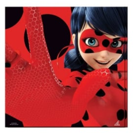Ladybug servetten 33 x 33 cm. 20 st.