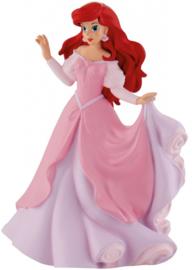 Disney Princess Ariel roze taart topper decoratie 9,5 cm.