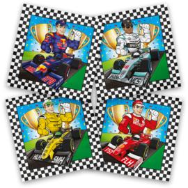 Formule 1 servetten 33 x 33 cm. 20 st.