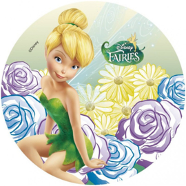Disney Tinkerbell ouwel taart decoratie B ø 21 cm.