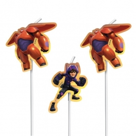 Disney Big Hero 6 rietjes 6 st.