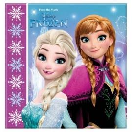 Disney Frozen Northern Lights servetten 33 x 33 cm. 20 st.