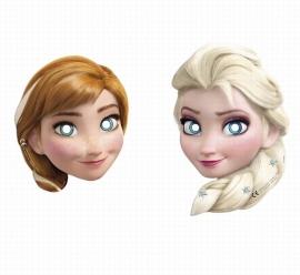 Disney Frozen maskers 6 st.