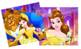 Disney Belle en het Beest servetten 20 st.