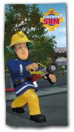Brandweerman Sam bad- strandhanddoek 70 x 140 cm.