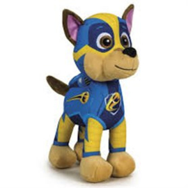 Paw Patrol Chase Mighty Pups knuffel 19 cm.
