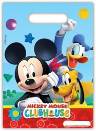 Disney Mickey Mouse traktatiezakjes 6 st.