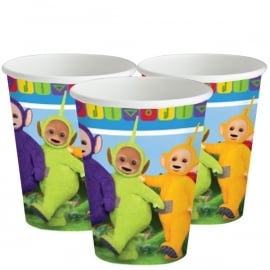Teletubbies bekertjes 266 ml. 8 st.