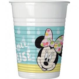 Disney Minnie Mouse tropical bekertjes 8 st.