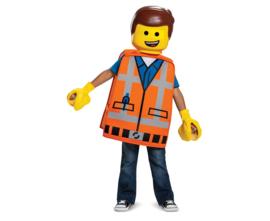 Lego verkleedkostuum Emmet M 7-8 jaar