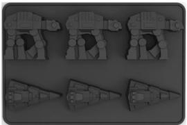 Star Wars ijsblokjes vorm 21 x 13,5 x 3 cm.