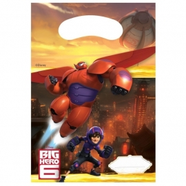 Disney Big Hero 6 traktatiezakjes 6 st.