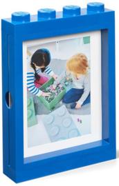 Lego fotolijst blauw