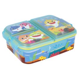 Baby Shark lunchbox 3-vaks