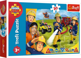 Brandweerman Sam puzzel 30 stukjes