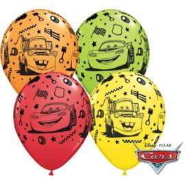 Disney Cars Lightning McQueen en Takel ballonnen ø 28 cm. 6 st.