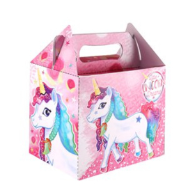 Little Unicorn Dreams traktatie doosje p/stuk