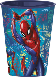 Spiderman drinkbeker Graffiti 260 ml.