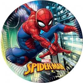 Spiderman Team Up bordjes ø 23 cm. 8 st.