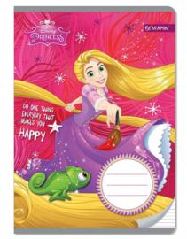 Disney Princess Rapunzel lijntjes schrift A5