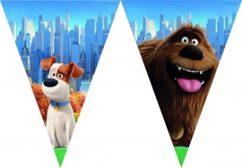 The Secret Life Of Pets vlaggenlijn 2,3 mtr.