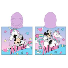 Disney Minnie Mouse Unicorn badponcho 55 x 110 cm.