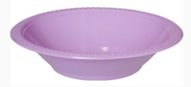 Lavendel - lila wegwerp schaaltjes 340 ml. 20 st.
