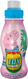 Peppa Pig aardbeien surprise drink