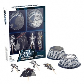 Star Wars cupcake decoratie set 48-delig