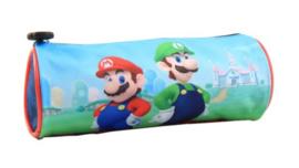 Super Mario en Luigi etui 22 x ø 8 cm.