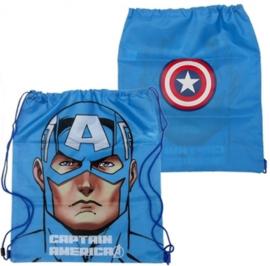 Avengers Captain America gym- zwemtas 44 x 38 cm.